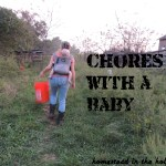 Chores with a baby