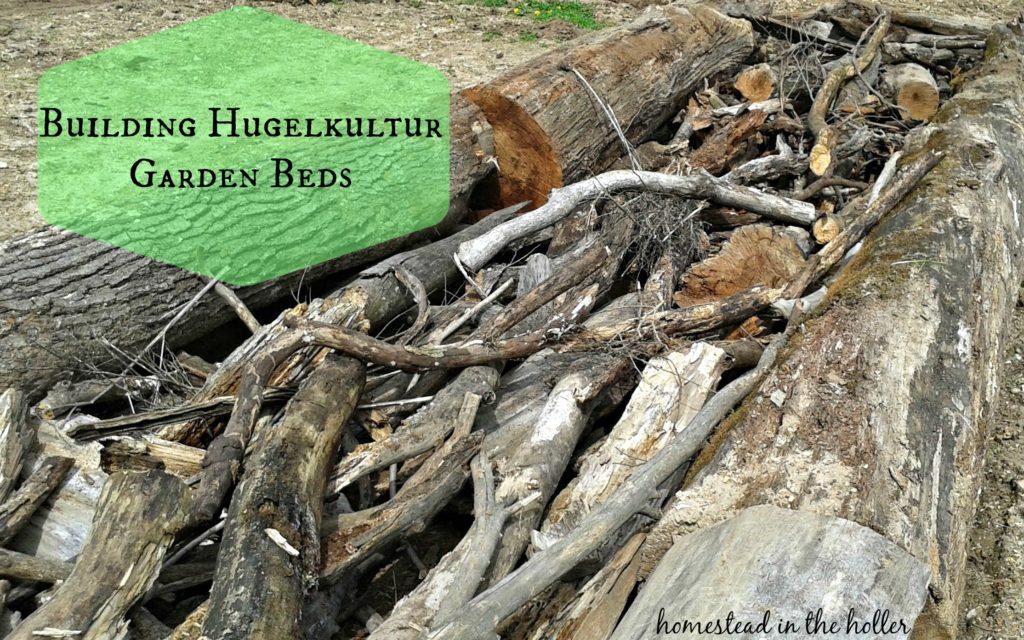 Building Hugelkultur Garden Beds