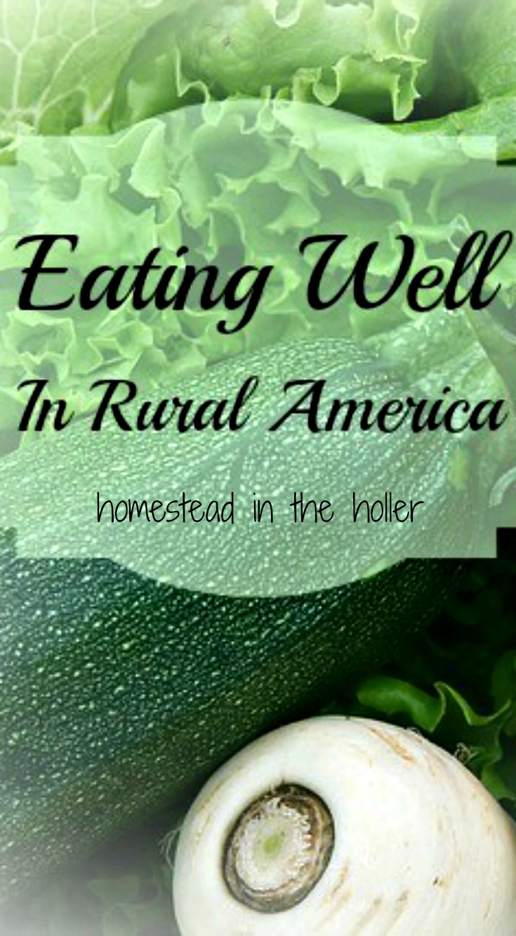 real food in rural America