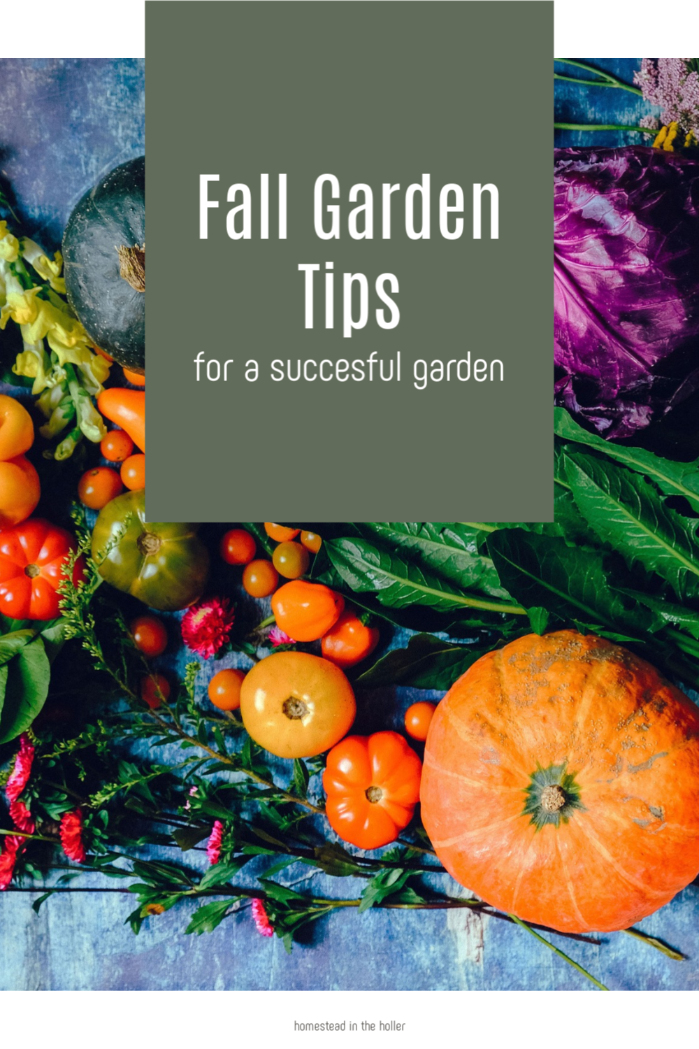 successful fall garden tips