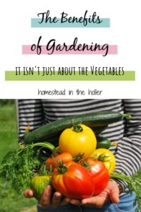 The benefits for Gardening